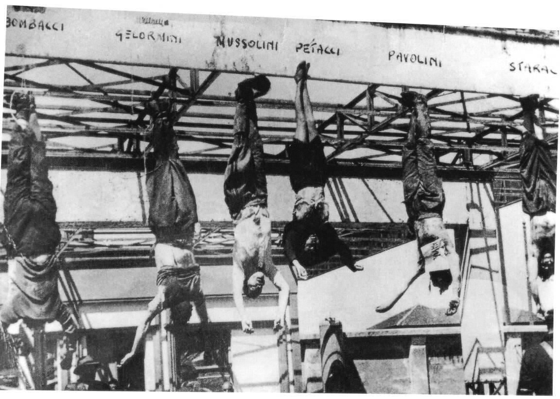 El despiadado asesinato de Mussolini