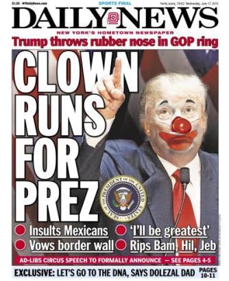 Trump caricatura
