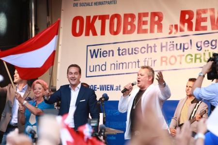 Revolución octubre Strache